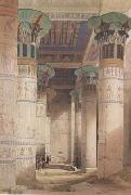 David Roberts,Portico of the Temple of Isis at Philae (mk23)