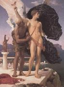 Lord Frederic Leighton Frederic Leighton,Daedalus and Icarus (mk23) oil painting reproduction