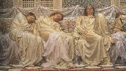 Alma-Tadema, Sir Lawrence Albert Moore (mk23) oil painting picture wholesale