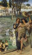 Alma-Tadema, Sir Lawrence On the Road to the Temple of Ceres (mk23) oil painting reproduction