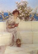 Alma-Tadema, Sir Lawrence The Year ' s at the Spring (mk24) oil painting reproduction