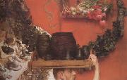 Alma-Tadema, Sir Lawrence The Roman Potters in Britain (mk23) oil painting picture wholesale