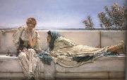 Alma-Tadema, Sir Lawrence Pleading (mk23) oil painting reproduction