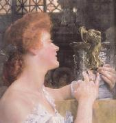 Alma-Tadema, Sir Lawrence The Golden Hour (mk23) oil painting reproduction