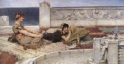 Alma-Tadema, Sir Lawrence Love's Votaries (mk23) oil painting reproduction