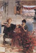 Alma-Tadema, Sir Lawrence Love's Jewelled Fetter (mk23) oil painting reproduction
