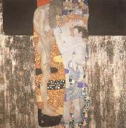 Gustav Klimt She who was La Belle Heaulmiere (mk19) oil painting picture wholesale