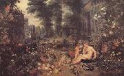 BRUEGHEL, Jan the Elder Sencse of Smell (mk14) oil painting reproduction