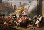 COPLEY, John Singleton The Death of Major Peirson (mk08) oil painting reproduction