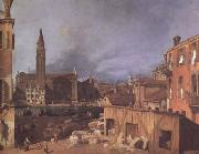 Canaletto Campo San Vitale and Santa Maria (mk08) oil painting picture wholesale