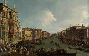 Canaletto Regata sul Canal Grande (mk21) oil painting reproduction