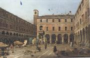 Canaletto Campo di Rialto (mk21) oil painting reproduction