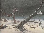 Caspar David Friedrich Winter Landsacpe (mk10) oil painting picture wholesale