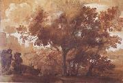 Claude Lorrain Landscape with Mythological Figures (mk17) oil painting picture wholesale