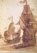 Claude Lorrain Two Frigates (mk17) oil painting picture wholesale