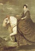 Queen Isabel on Horseback (detail) (df01)