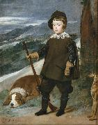 Diego Velazquez Prince Baltasar Carlos as a Hunter (df01) oil painting reproduction