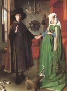 Jan Arnolfini and his Wife,Jeanne Cenami (df01)