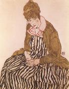 Edith Schiele,Seated (mk12)