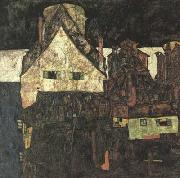 Egon Schiele The Small City I (Dead City VI) (mk12) oil painting picture wholesale