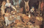 Frans Snyders Pieter cornelisz van ryck Kitchen Scene (mk14) oil painting picture wholesale