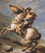 Jacques-Louis David Napoleon Crossing the Alps (mk08) oil painting picture wholesale