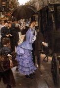 James Tissot La Demoiselle D'Honneur (The Bridesmaid) (nn01) oil painting picture wholesale