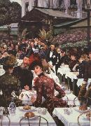 James Tissot Les Femmes D'Artiste (The Artist's Ladies) (nn01) oil painting picture wholesale