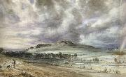 John Constable Old Sarum (mk22) oil painting artist
