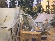 Camp at Lake O'Hara (mk18)