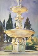 John Singer Sargent In a Medici Villa (mk18) oil painting picture wholesale