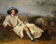 Goethe in the Roman Campagna (mk08)