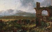 Thomas Cole A View near Tivoli (Morning) (mk13) oil painting picture wholesale