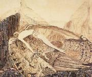 Vasily Surikov The Fallen Demon,on the death of Mikhail Vrubel (mk19) oil painting picture wholesale