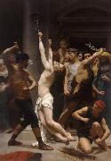 Adolphe William Bouguereau The Flagellation of Christ (mk26) oil painting reproduction
