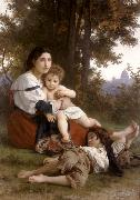Adolphe William Bouguereau Rest (mk26)