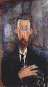 Amedeo Modigliani Portrait of Paul Alexandre in Front of a Window (mk39) oil painting reproduction