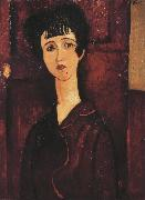 Amedeo Modigliani Portrait of a Girl (mk39) oil painting reproduction