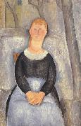 Amedeo Modigliani La belle epiciere mk39) oil painting reproduction