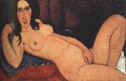 Reclining Nude with Loose Hair (mk39)