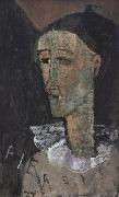 Amedeo Modigliani Pierrot (mk39) oil painting reproduction
