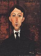 Amedeo Modigliani Portrait of Manuell (mk39) oil painting reproduction