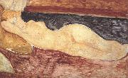 Amedeo Modigliani Reclining Nude (mk39) oil painting reproduction