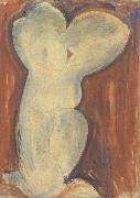 Amedeo Modigliani Caryatid (mk39) oil painting reproduction