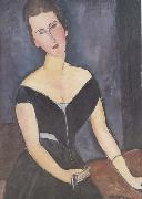Amedeo Modigliani Madame Georges van Muyden (mk38) oil painting reproduction