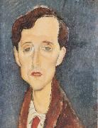 Amedeo Modigliani Frans Hellens (mk38) oil painting reproduction