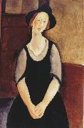 Amedeo Modigliani Portrait of Thora Klinckowstrom (mk39) oil painting reproduction