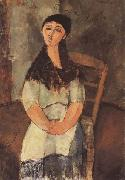 Amedeo Modigliani La Petite Louise (mk38) oil painting reproduction