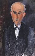 Amedeo Modigliani Portrait of Max jacob (mk39) oil painting reproduction