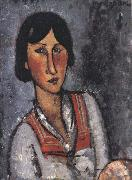 Amedeo Modigliani Portrait of a Woman (mk39) oil painting reproduction